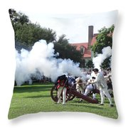 Battlelines Drawn Throw Pillow
