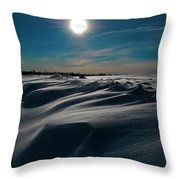Battling For Melt  Throw Pillow by Empty Wall