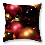 Bauble Abstract Throw Pillow