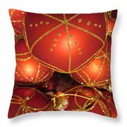 Baubles 2 Throw Pillow