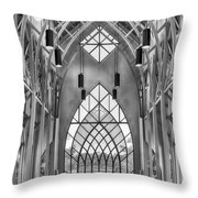Baughman Meditation Center Throw Pillow