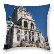 Bavarian National Museum Throw Pillow