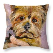 Baxter Baron On Brandon Hall Throw Pillow
