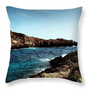 Bay And Sea Throw Pillow