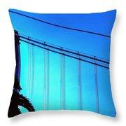 Bay Bridge 19702 Throw Pillow