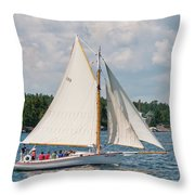 Bay Lady 1270 Throw Pillow