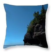 Bay Of Fundy Landmark Throw Pillow