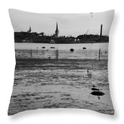 Bay Of Tallinn Throw Pillow