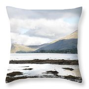 Bay Reflections Throw Pillow