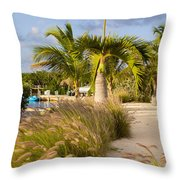 Bay Walk Throw Pillow