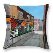 Bayfield Alley Throw Pillow
