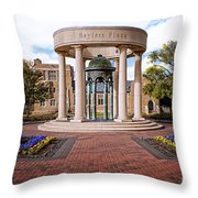 Bayless Plaza  Throw Pillow by Tamyra Ayles