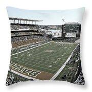 Baylor Gameday No 4 Throw Pillow