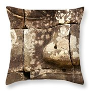 Bayon  - Cambodia Throw Pillow