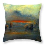 Bayou Evening 22x28 Throw Pillow