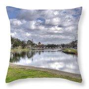 Bayou St. John Throw Pillow
