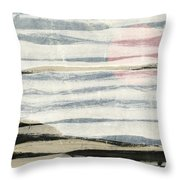 Bayshore Sunset Throw Pillow by Carol Leigh