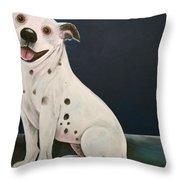 Baz The Dog Throw Pillow