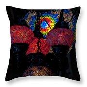 Bazaar Lights Throw Pillow