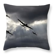 Bbmf And Vera Throw Pillow