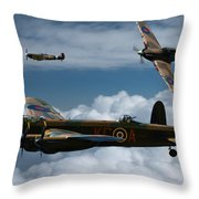Bbmf Formation Throw Pillow