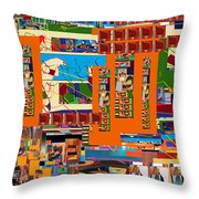 be a good friend to those who fear Hashem 11 Throw Pillow by David Baruch Wolk