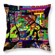 be a good friend to those who fear Hashem 16 Throw Pillow by David Baruch Wolk