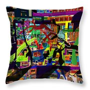 be a good friend to those who fear Hashem 17 Throw Pillow by David Baruch Wolk