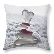 Be Careful With My Heart Throw Pillow