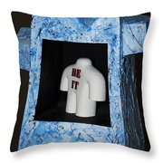 Be It Throw Pillow by Daniel P Cronin