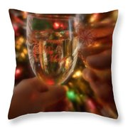 Be Merry Throw Pillow