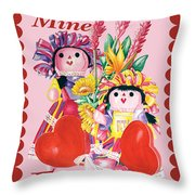 Be Mine-forever Throw Pillow