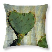 Be My Valenspine Throw Pillow