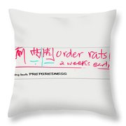 Be Prepared 21093 Throw Pillow