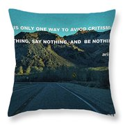 Be Something Throw Pillow