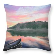 Be Still  Throw Pillow by Cathy Weaver