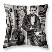 Be Still My Heart Throw Pillow by Diane Wood