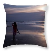 Be Still My Soul Throw Pillow by Nelson Watkins