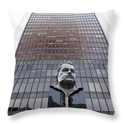 Be The Change Throw Pillow by Valentino Visentini