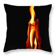 Be The Flame Throw Pillow