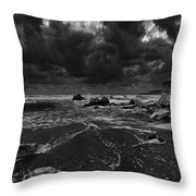 Beach 31 Throw Pillow