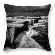 Beach 28 Throw Pillow