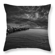 Beach 7 Throw Pillow