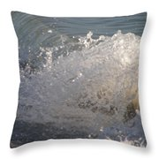 Beach Breaker Throw Pillow