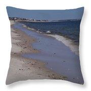 Beach Day II Throw Pillow