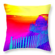Beach Dream Throw Pillow