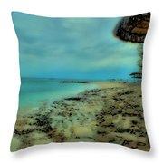 Beach Holiday Throw Pillow