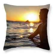 Beach Lifestyle Throw Pillow