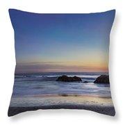 Beach Oasis Throw Pillow