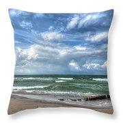 Beach Prerow Throw Pillow